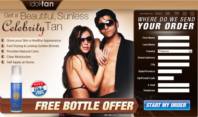 best sunless tanning